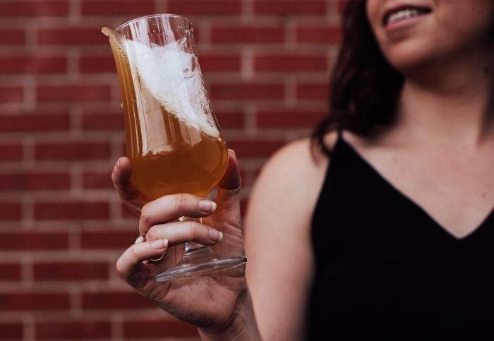 Perfect Craft Beer Pour